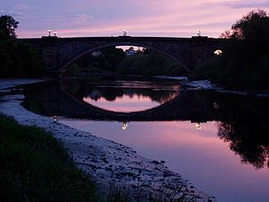 Handbridge - Grosvenor Bridge, 2007