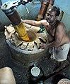 Ground peanut Oil mill India sesame तिल எள் ಎಳ್ಳು എണ്ണ എള്ള് cake tahini tamilnadu tamil nadu foreigner desi indian village feature story 2011 - Etan Doronne myindiaexperience.jpg