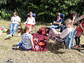 Group of sitting females during picknick.jpg