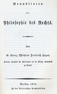 <i>Elements of the Philosophy of Right</i>