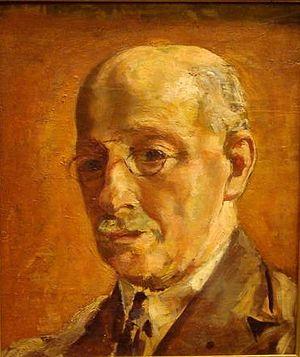 Guillaume Van Strydonck - Self-portrait (c.1920)