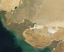 ... sebuah mantan sungai yang terletak di negara bagian Gujarat , India