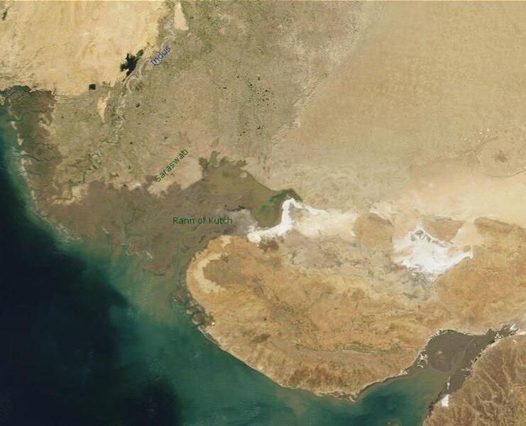 Berkas:Gujarat (India)-satellite.jpg