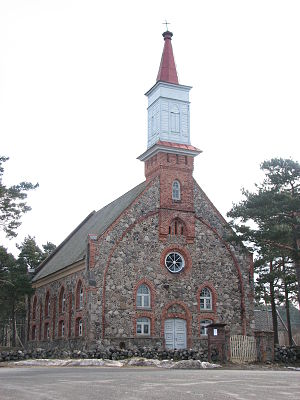 Häädemeeste - Häädemeeste St. Michael's Church