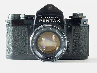 Pentax cameras - Honeywell H3V