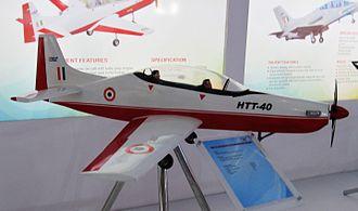 HAL HTT-40 - Model of the HAL HTT-40