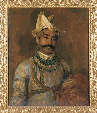 Dewas State - HH Maharaja Malhar Rao Puar of Dewas Jr