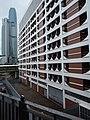HK 上環 Sheung Wan north Rumsey Street Multi-Storey Car Park facade morning August 2019 SSG 08.jpg