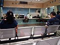 HK 灣仔 Wan Chai North 入境處大樓 Immgration Tower 水務處 Water Supplies Department shop interior metal chairs August 2017 Lnv2 02.jpg