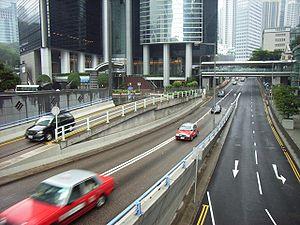 Garden Road, Hong Kong - Image: HK Garden Road flyover
