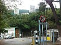HK Southern District 深水灣 Deep Water course carpark 香港高爾夫球會 Hong Kong Golf Club Nov-2012.JPG