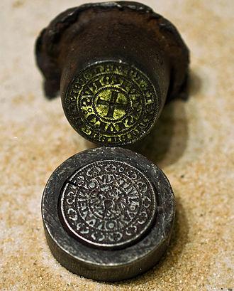 Medalist - Medieval tornesel coin die from Frankfurt am Main