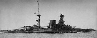 HMS Barham (04) - Barham in the Mediterranean