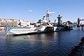 HMS Belfast (C35), London, England-7Nov2009.jpg