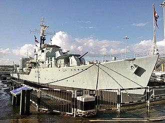 HMS Cavalier (R73) - Image: HMS Cavalier (D73)