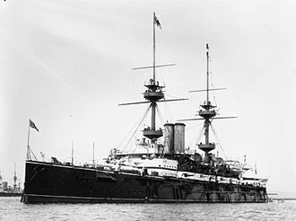 Majestic-class battleship - Magnificent in 1899