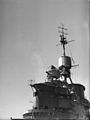 HMS Valiant during a Practice Shoot. 22 December 1942, in the Indian Ocean. A15154.jpg