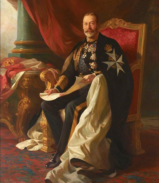 HM King George V as Grand Master