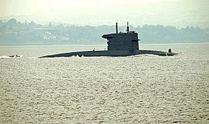 HNLMS Walrus (S802) in 2008