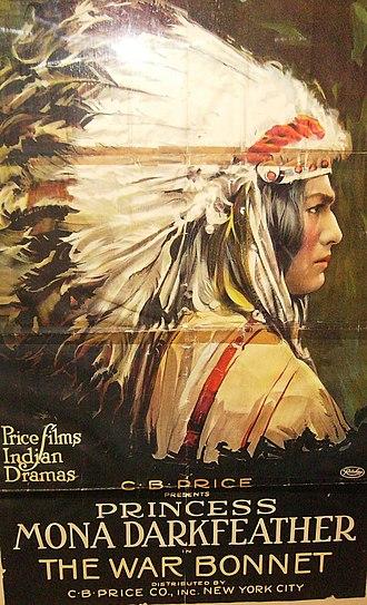 Mona Darkfeather - The War Bonnet (1914)