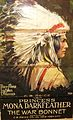 HPIM2395 Movie Poster for War Bonnet Starring Princess Mona Darkfeather.JPG