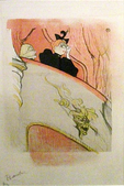 The Box with the Gilded Mask, 1894, color crayon, brush and spatter lithograph with scraper[40]