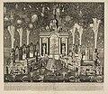 HUA-29029-Afbeelding van het vuurwerk in de Hofvijver in Den Haag afgestoken op 14 juni 1713 ter gelegenheid van het sluiten van de Vrede van Utrecht op 11 apri.jpg