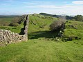 Hadrian's Wall at Walltown Crags - geograph.org.uk - 999438.jpg