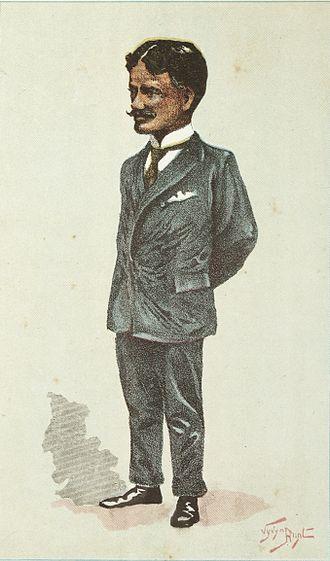 Hone Heke Ngapua - 1896 caricature of Hone Heke Ngapua