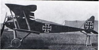 Halberstadt D.II fighter aircraft