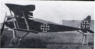 Fokker Scourge - Halberstadt D.II, said to be one of Boelcke's aircraft