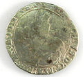 Halfcrown of Charles I - Counterfeit (YORYM-1995.109.37) obverse.jpg