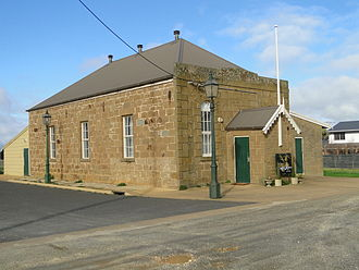 Ceres, Victoria - Former Temperance Hall, now  Theatre of the Winged Unicorn