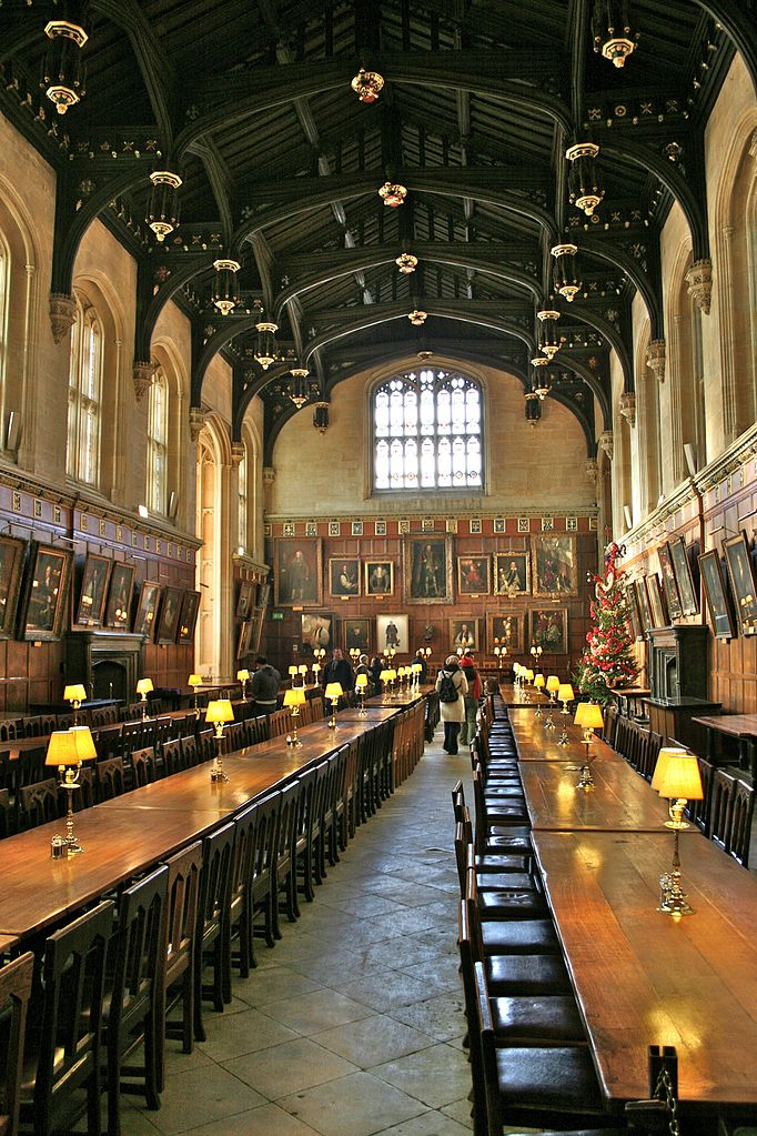 Long Foyer University : File hall of christ church oxford g wikimedia commons