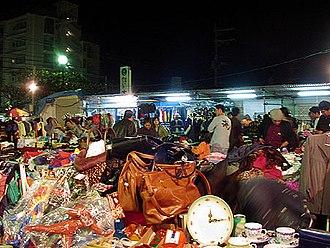 Chatan, Okinawa - Image: Hamby Night Market 2