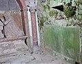 Hamilton Mausoleum gravestone with inscription, Dunlop, East Ayrshire.jpg