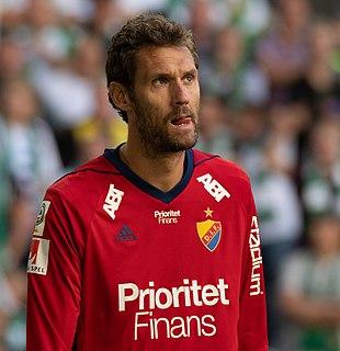 Andreas Isaksson Swedish former professional footballer