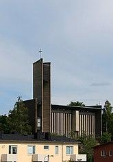 Fil:Hammarbykyrkan.jpg