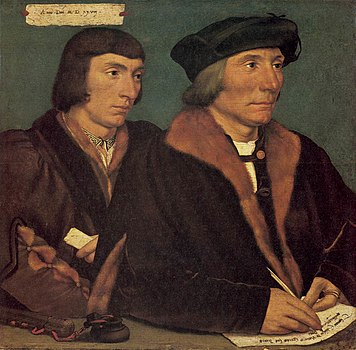 Hans Holbein d. J. - Double Portrait of Sir Thomas Godsalve and His Son John - WGA11528.jpg