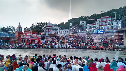 Har Ki Pauri at Haridwar, India