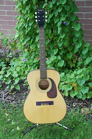 Harmony Company - Image: Harmoney guitar A Birdhouse with Soul