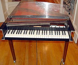 "Because (Beatles song) - An electric harpsichord similar to the one used for ""Because"""