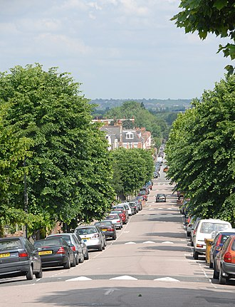 Harringay - One of the residential streets on the Harringay Ladder, looking due east.