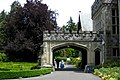 Hatley Castle entrance. INFO IN PANORAMIO DESCRIPTION - panoramio.jpg