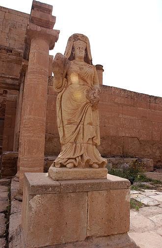 Hatra - Statue of the Goddess Shahiro