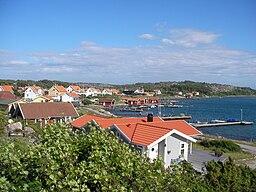 Havstenssund, mod øst