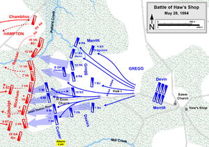 Battle of Haw's Shop - Battle of Haw's Shop