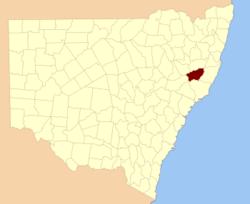 Hawes NSW