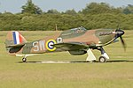 Hawker Hurricane Mk.I 'P3717 SW-P' (G-HITT) (45165430671).jpg