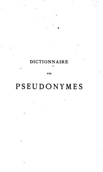 File:Heilly - Dictionnaire des pseudonymes - 1869.djvu